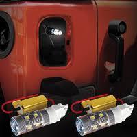 jeep jk led tail light bulb light bars brackets fortec inc jeep parts jeep accessories