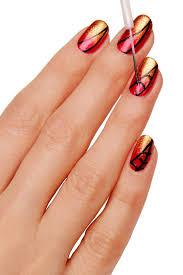 nail tips nail art step by step