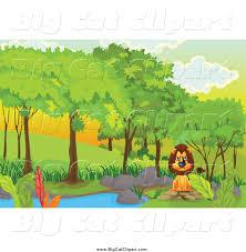 forest cartoon clipart 35