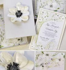 wedding invitations durban 22 best paper flower wedding invites images on paper
