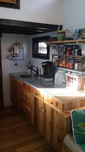 Tiny House Kitchen by Amity Tiny House A Dual Loft Tiny House On Wheels In Berthoud
