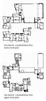 Condominium Plans Sea Ranch Condominium One Floor Plans