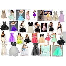 8th grade dance dresses polyvore