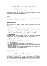 format abstrak tesis panduan penyusunan dan penulisan skripsi