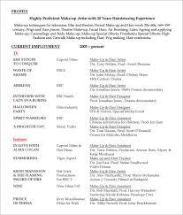 Sample Resume Formats Download by Sample Hairdressing Cv Template 7 Download Documents In Pdf