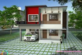 1700 sq ft modern flat roof house kerala home design and floor plans