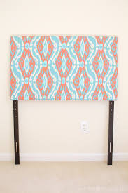 How To Make A Twin Bed Headboard by Diy Upholstered Twin Headboards The Easy Way