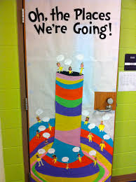 Office Christmas Door Decorating Contest Ideas Oh The Places We U0027re Going