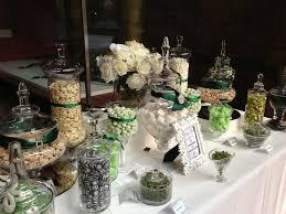 Jar Table L Wedding Buffet In Emerald Green Buffets L Sweetie