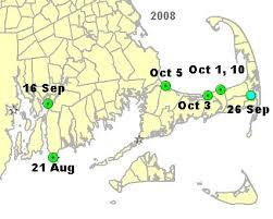 Cape Cod Weather October - manatees buzzards bay buzzards bay national estuary program