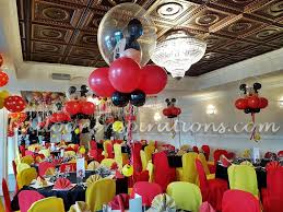 Balloon Ceiling Decor Mickey Mouse Clubhouse Themed Children U0027s Party Decorations