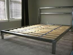 handmade welded platform bed by steric design custommade com