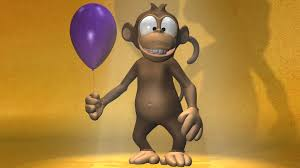 monkey wallpaper for walls cartoon monkey 3d full hd wallpaper and background image 1920x1080