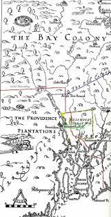 Map Of Ri William U0026 Mary Dyer William Dyer Landed Gentleman