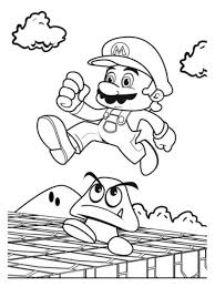 goomba coloring pages coloring