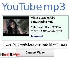 download youtube in mp3 youtube se video aur song download kaise kare bina kisi software ke