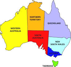 austrelia map australia map inside of with states to and territories world maps