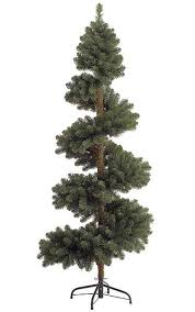 Spiral Light Christmas Tree Outdoor by 7 U0027 Spiral Spruce Topiary No Lights