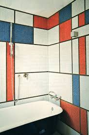 Blue Tile Bathroom by Best 20 Mosaic Bathroom Ideas On Pinterest Bathrooms Family