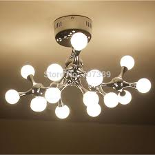 Ceiling Lights Cheap by Creative Robot Dog Dna Molecules Style Ceiling Light Lamp 45w Led
