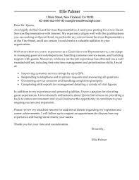 cover letter samples customer service representative cover letter