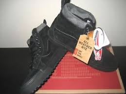 s shoes and boots size 9 vans sk8 hi mte womens black black camo all weather skate shoes