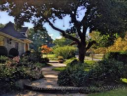 Front Yard Walkway Landscaping Ideas - front yard walkway landscape traditional with red brick walkway