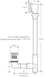 Flexible Drain Pipe For Bathtub Plumbing A Bathtub Drain And Overflow U2013 Modafizone Co