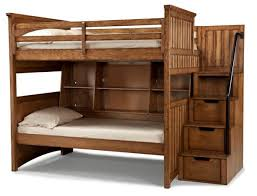 Timber Bunk Bed Legacy Timber Lodge Bookcase Bunk Bed W Storage Steps
