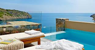 chambre piscine villas une chambre avec piscine privée daios cove crète