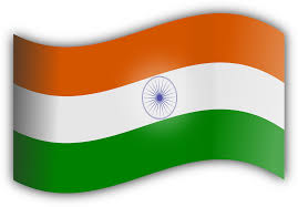 National Flags With Orange Clipart Indian Flag