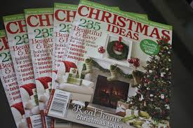 the yellow cape cod better homes and gardens christmas ideas 2013