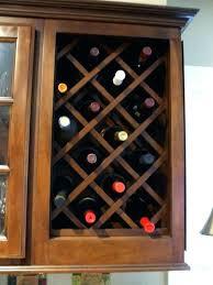 kitchen cabinet wine rack ideas modern kitchen cabinet wine rack within best 25 ideas on