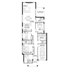 baby nursery house plans narrow block narrow block long house
