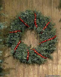 christmas wreaths wreaths martha stewart