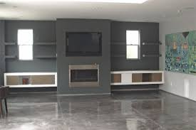 Floating Shelves Entertainment Center by Custom Entertainment Centers Orange County Custom Entertainment