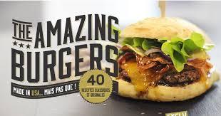 recettes de cuisine originales the amazing burgers la recette idéale de the amazing burgers