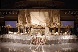 wedding table setting exles main table wedding decorations home design 2017