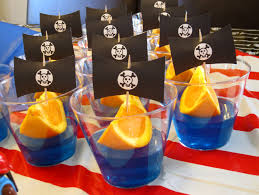 pirate birthday party pirate birthday party jello orange slice ships web flickr