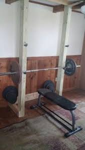 Bench Press By Yourself Weight Rack Bench Press Weights Weight Rack And Clutter