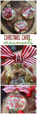 diy carol ornaments free cut file ornament hop