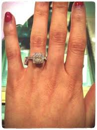 neil emerald cut engagement rings my beautiful 2ct neil engagement ring including the 1ct