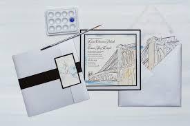 illustrated wedding venue wedding invitations momental