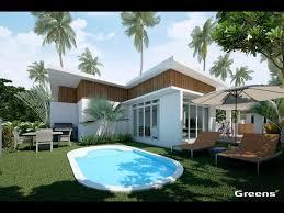 chambre piscine villa a vendre sur plan 2 chambres avec piscine privee iris
