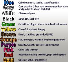 color meanings chart is your logo making you money dreamfly marketing