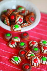christmas chocolate chocolate pretzel candies kitchen treaty