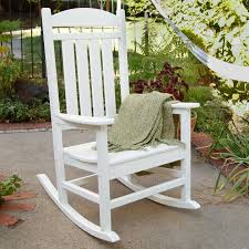Trex Rocking Chair Reviews Home Polywood Presidential Recycled Plastic Rocking Chair Hayneedle