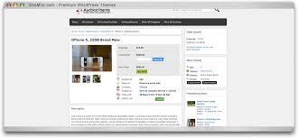 bid auction websites responsive auction theme auction script sitemile