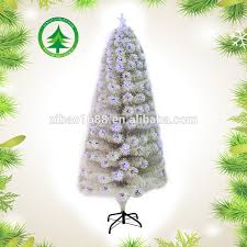 white christmas tree with blue lights white christmas tree with