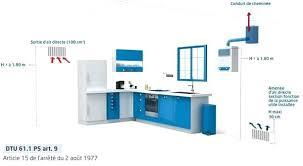norme gaz cuisine ventilation cuisine gaz ventilation basse et haute norme ventilation